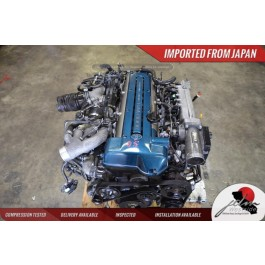 JDM TOYOTA 2JZ GTE ENGINE VVTI ARISTO TWIN TURBO JDM GS300 IS300