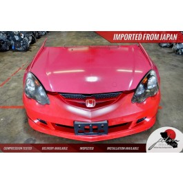 JDM 2002 2006 ACURA RSX FRONT END NOSE CUT CONVERSION HONDA INTEGRA TYPE R FRONT