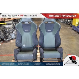 03-08 Honda Accord Euro R CL7 Acura TSX Front Recaro Seats K20 Type R RARE COLOR