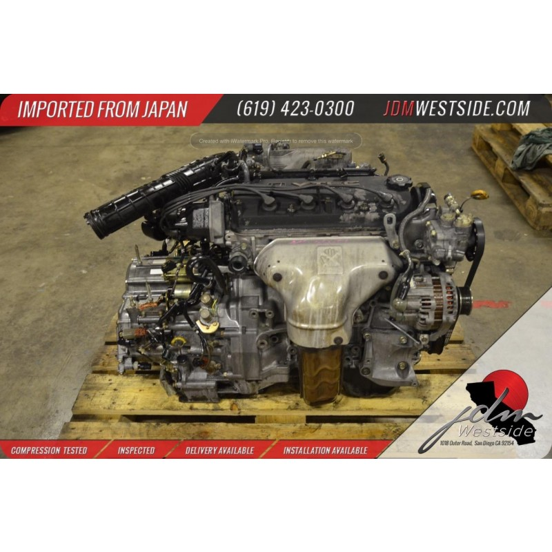 1998 1999 2000 2001 2002 HONDA ACCORD F23A 2.3L COMPLETE Engine & Transmission MGPA