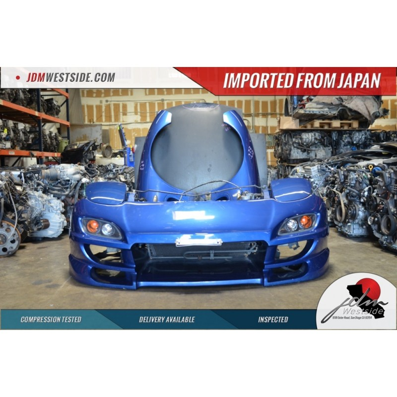 JDM 1996-1998 MAZDA RX7 FD3S TURBO FRONT END CONVERSION SIDE SKIRTS REAR BUMPER