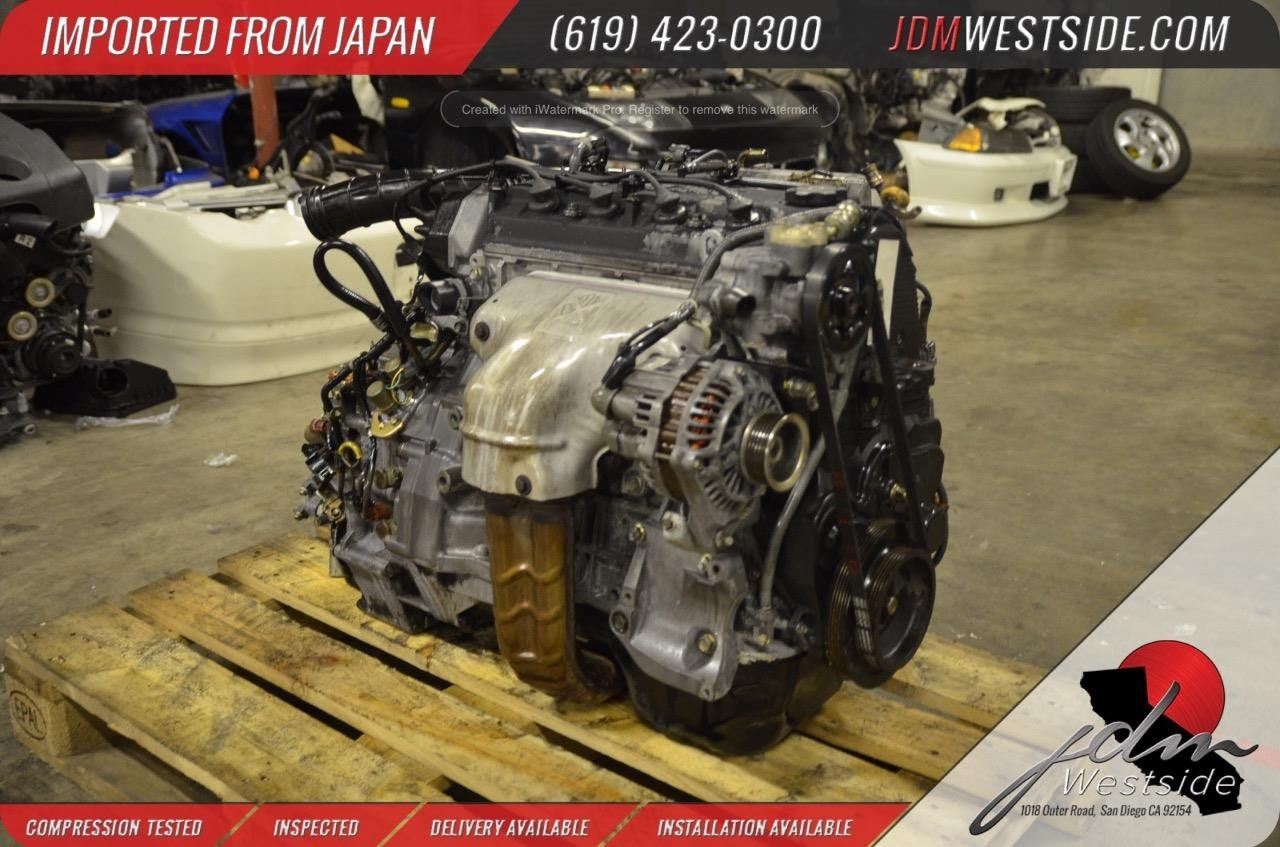 1998 1999 2000 2001 2002 HONDA ACCORD F23A 2 3L COMPLETE Engine &  Transmission MGPA