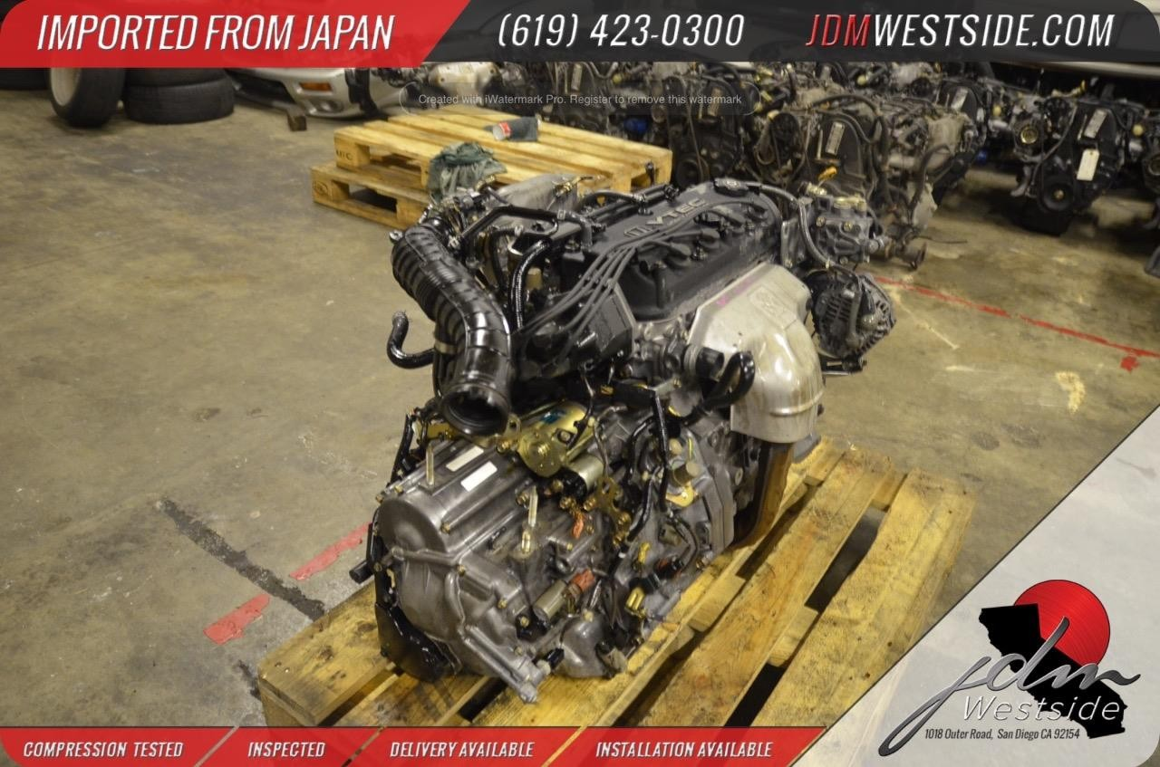 1998 1999 2000 2001 2002 Honda Accord F23a 23l Complete Engine Install Transmission Mgpa