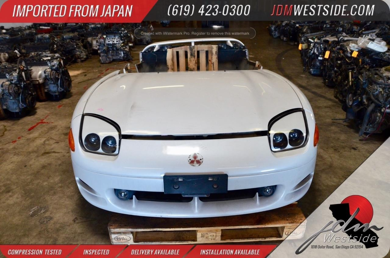 JDM Mitsubishi 3000GT GTO Nose Cut Front End 1994+ Dodge Stealth OEM