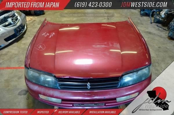 1993 1994 1995 1996 1997 NISSAN SKYLINE R33 NOSE CUT FRONT END CONVERSION