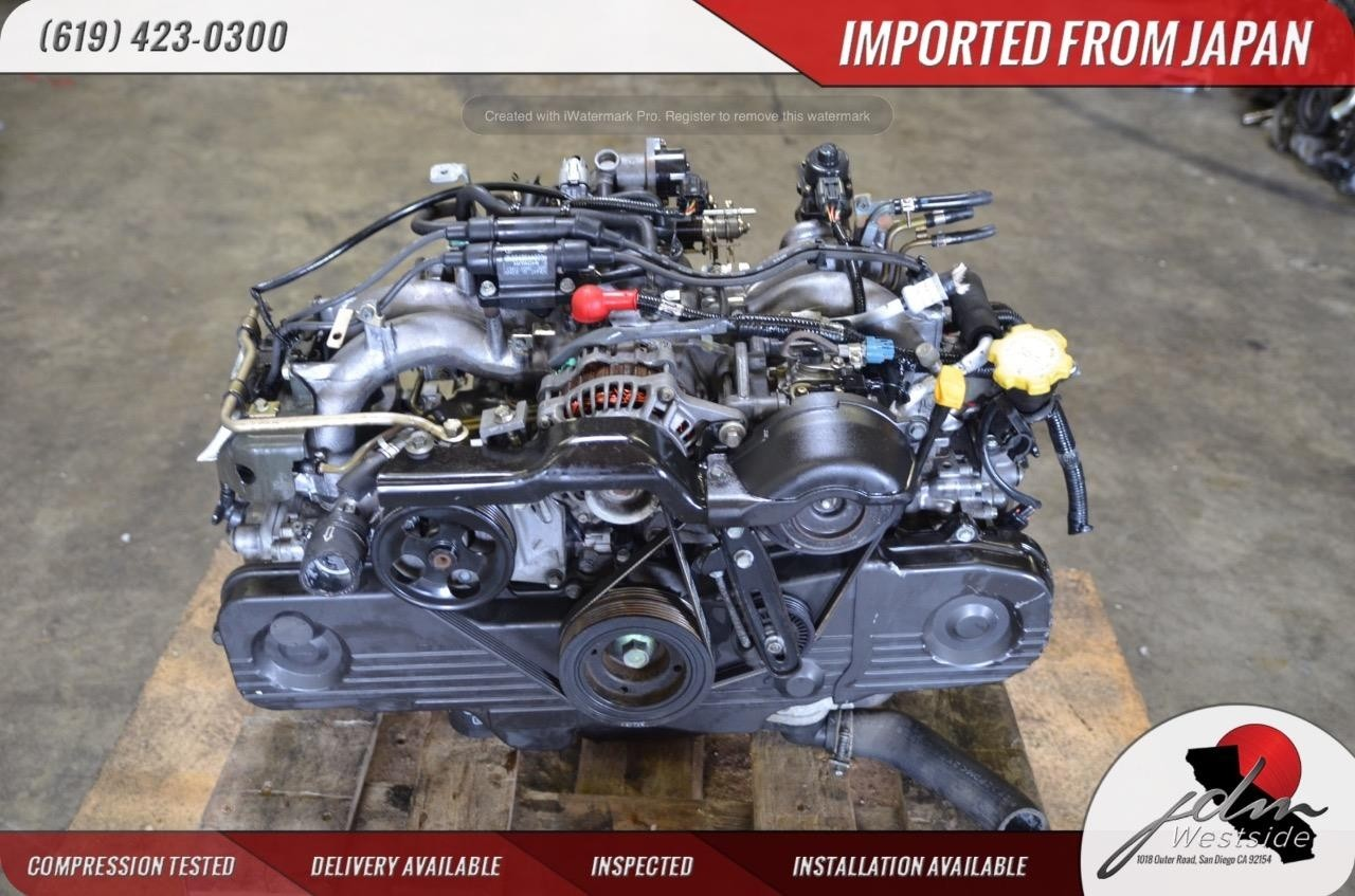 JDM 99-05 SUBARU LEGACY OUTBACK FORESTER ENGINE 2.0L REPLACEMENT EJ25 EJ20 SOHC