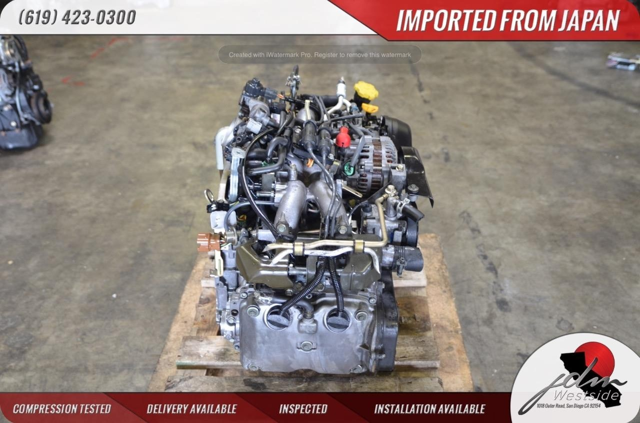 99-04 SUBARU LEGACY OUTBACK FORESTER ENGINE 2 0L REPLACEMENT EJ25 EJ20 SOHC