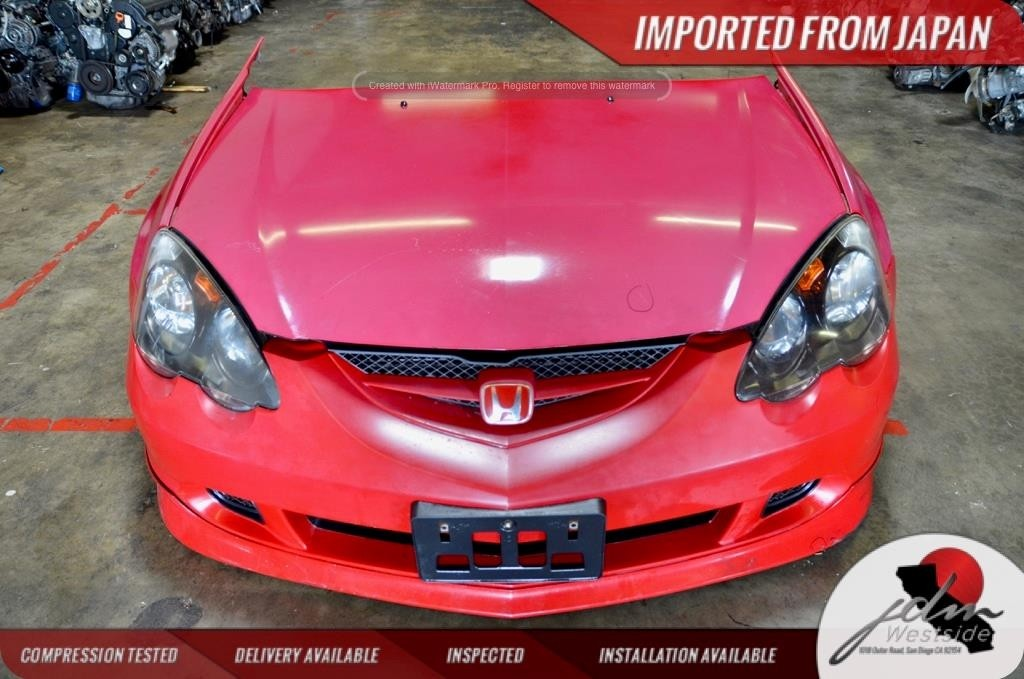 2002- 2006 ACURA RSX FRONT END NOSE CUT CONVERSION HONDA INTEGRA TYPE R FRONT