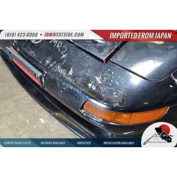 JDM Toyota MR2 SW20 94+ Complete OEM front end with fenders and hood BLACK