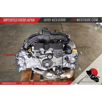 JDM 11-16 SUBARU IMPREZA XV CROSSTRECK FORESTER ENGINE FB20 TEST VIDEO