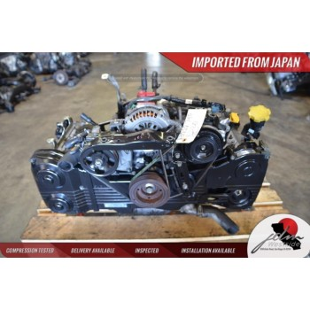 2002-2005 JDM EJ205 SUBARU WRX ENGINE HEAD & BLOCK ONLY 2.0 TURBO NON AVCS