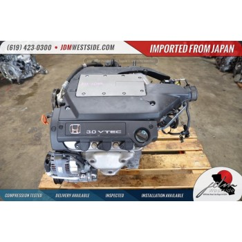 1998 1999 2000 2001 2002 Honda Accord J30A 3.0L V6 Sohc Vtec ENGINE J30