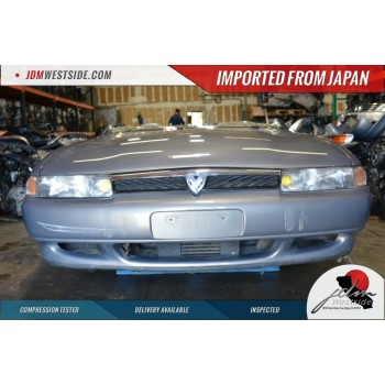 JDM 90-96 MAZDA COSMO 20B ROTARY 3ROTAR TWIN TURBO COMPLETE HALF CUT JCESE